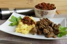 Мясо с арахисовой пастой по мотивам тигадегены