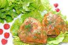 Куриные бедра в малиновом маринаде