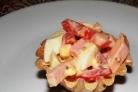 Тарталетки с сыром - 34 рецепта приготовления пошагово