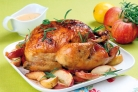 Курица с маслятами