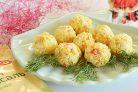Шарики крабовые с сыром