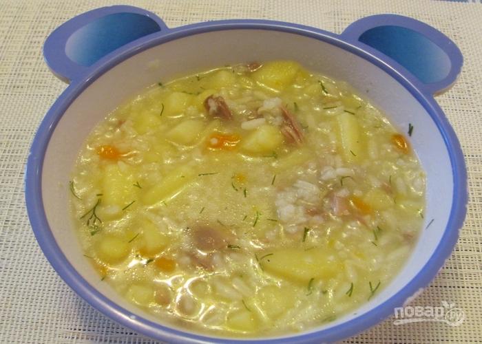 Суп с перепелами