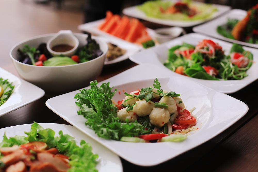 Легкие блюда (салаты) для похудения