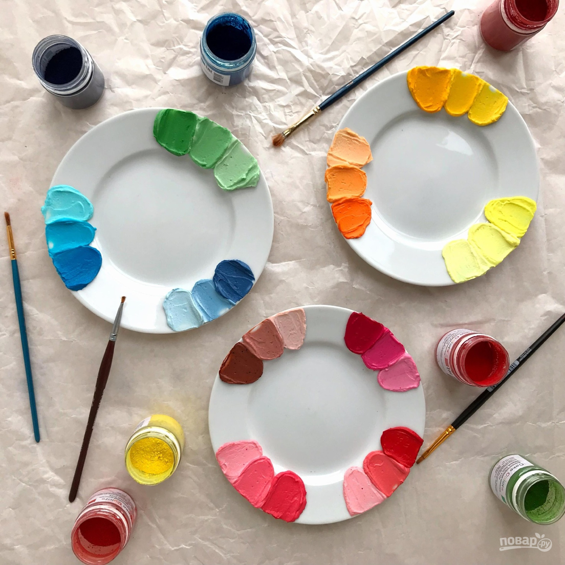 Палитра цветов Cake Colors