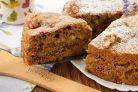 Яблочный пирог с орехами Рассвет