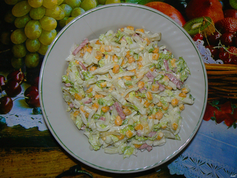 салат консервированная рыба с фото