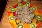 Говядина с киви
