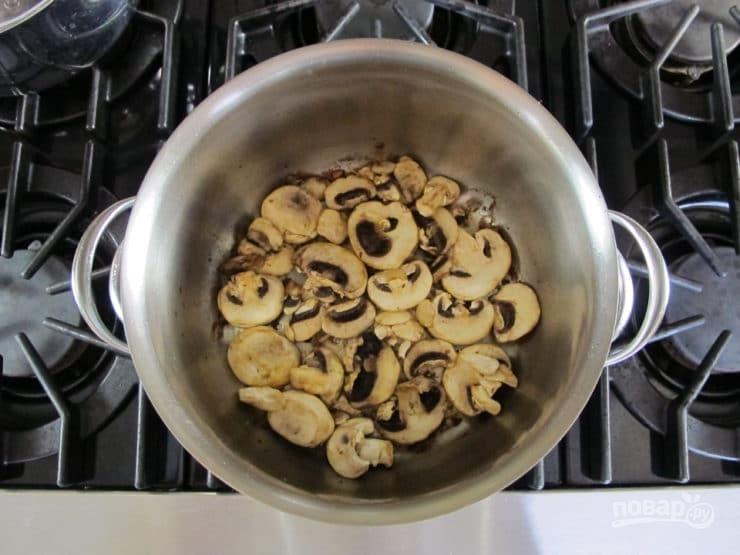 Ячменный суп с рёбрышками