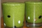 Зеленый коктейль с лаймом