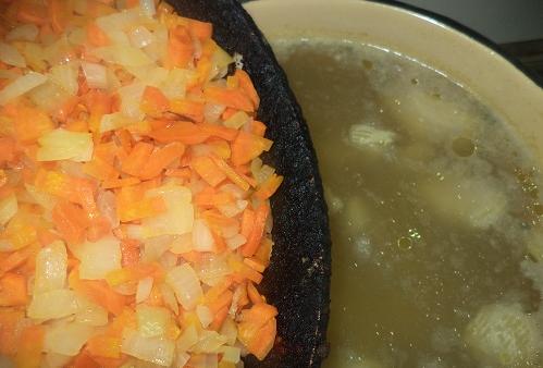 Куриный суп для детей