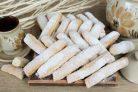 Кунжутное печенье с творогом