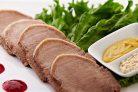 Вареный свиной язык (очень простой рецепт)