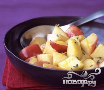 Рецепт Жареные яблоки с тимьяном