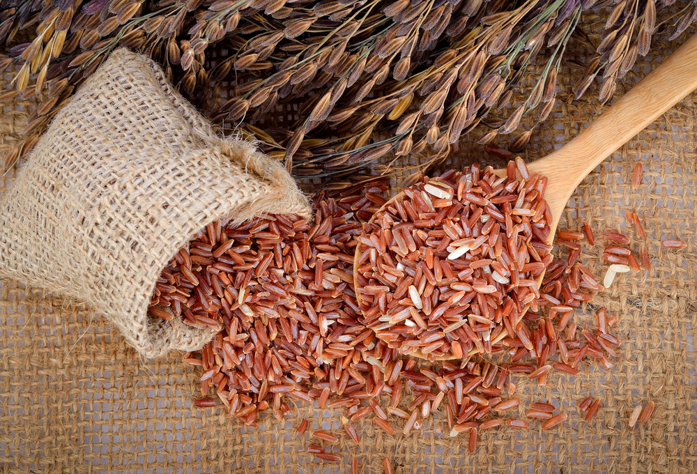 Красный или коричневый рис