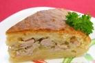 Мясной пирог на скорую руку