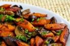 Шампиньоны с морковью