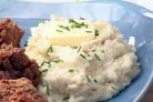 Пюре из цветной капусты с чесноком и пармезаном