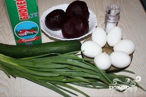 Холодник по-белорусски со свеклой