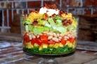 Слоеный салат Праздничный
