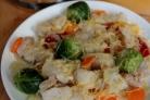Рыба с овощами в пароварке