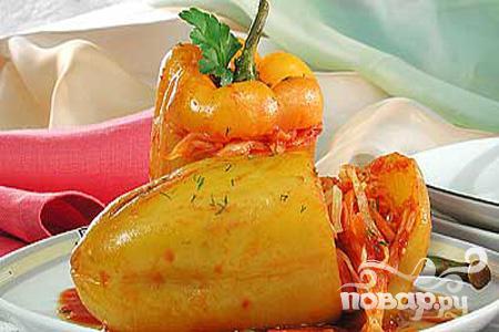 Рецепт Перчик фаршированный овощами