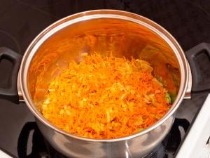 Сливочный суп с семгой