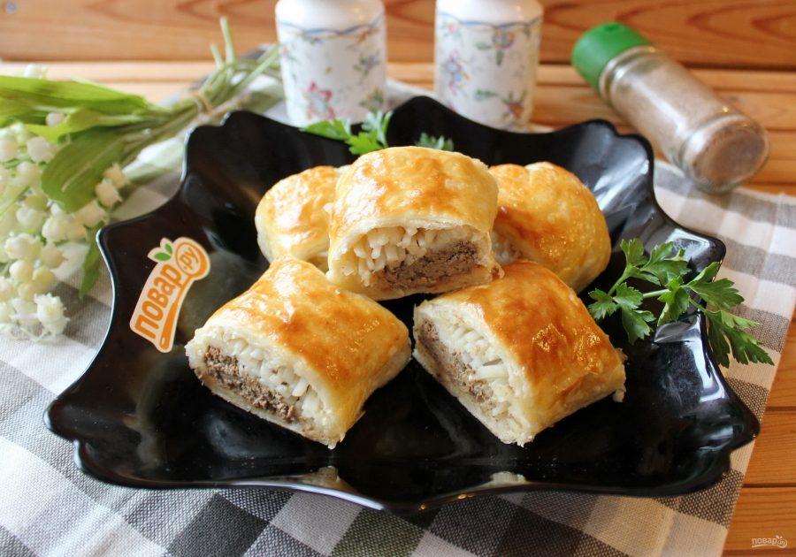 Пирог с мясом, Маина