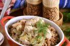 Индейка в сметанном соусе
