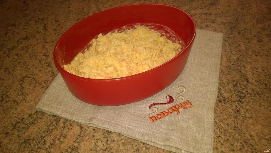Морковно-сырная закуска