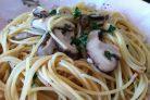 Спагетти с шиитаке
