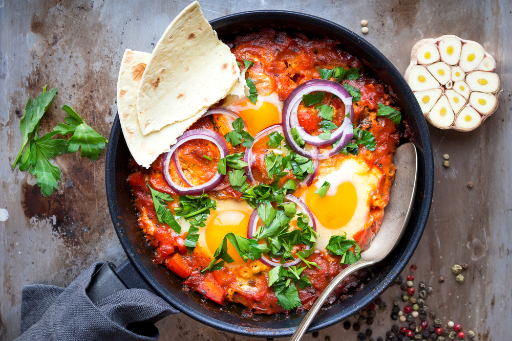 Португальский микс с яйцами