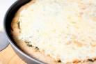Пицца Три сыра с соусом Песто