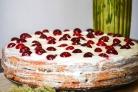 Вишневый торт со сметанным кремом