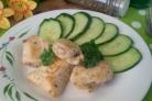 Куриное филе кусочками на сковороде