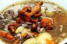Суп из свежих лисичек