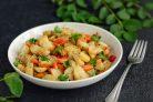 Картошка в рукаве с овощами