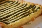 Пирог с картофелем и спаржей