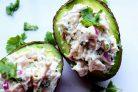 Салат с авокадо с курицей