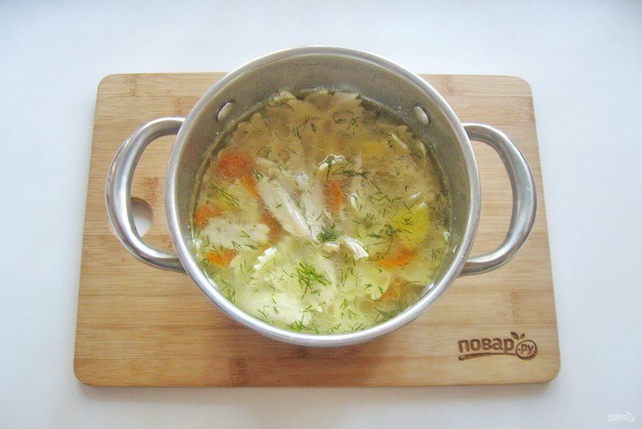 Суп из голени индейки