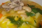 Суп фасолевый традиционный