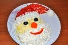 "Салат ""Дед Мороз-Красный нос"""