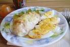 Кафтаны с картофелем и сыром