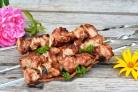 Сочный шашлык из свинины с уксусом