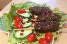 Люля-кебаб с пшеном и орехами