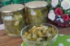 Салат из огурцов на зиму по-корейски