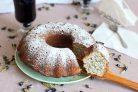 Творожный кекс с маком