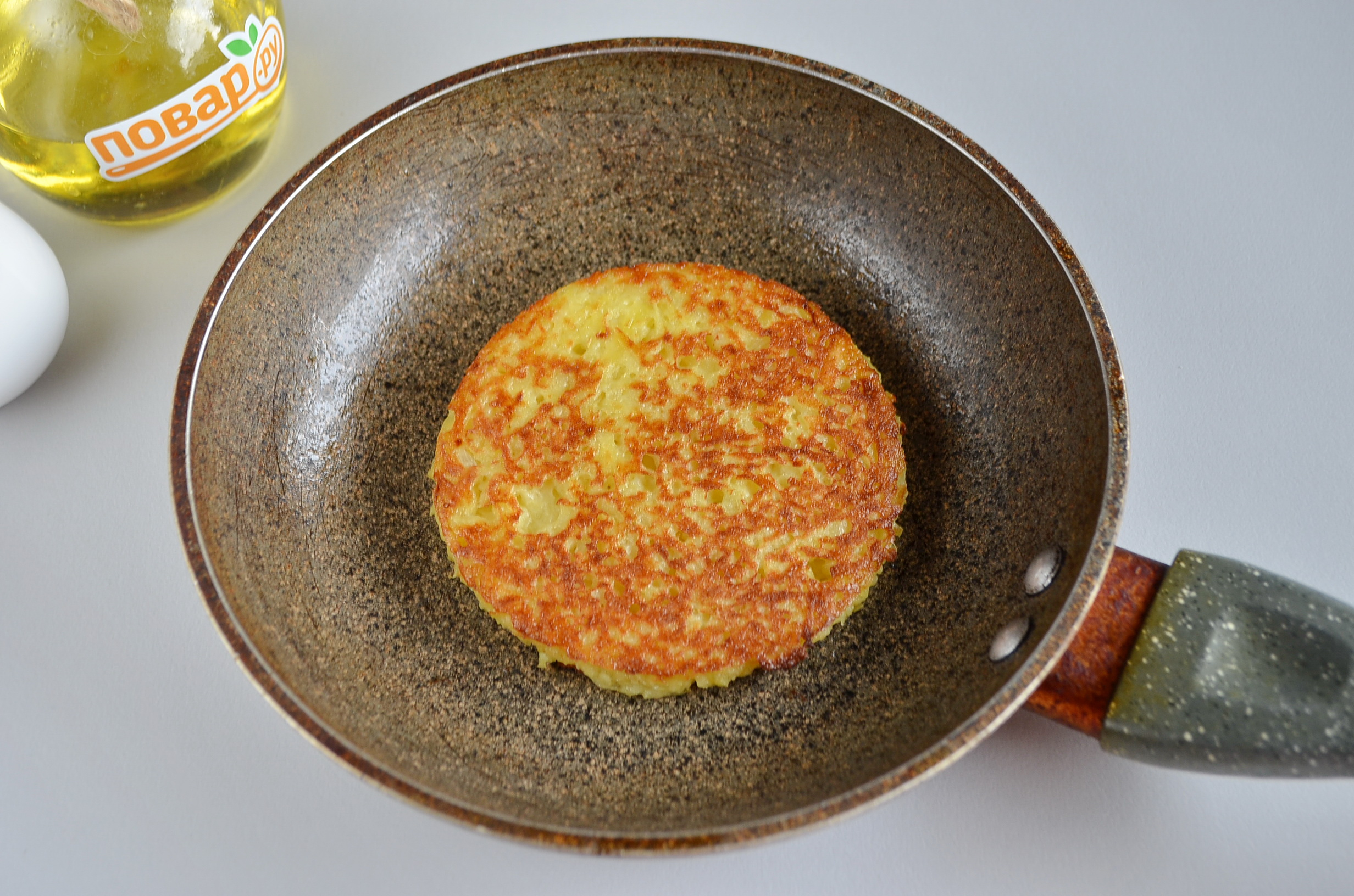Драник-основа для картофельного сэндвича