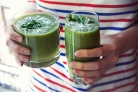Зеленый коктейль с каперсами