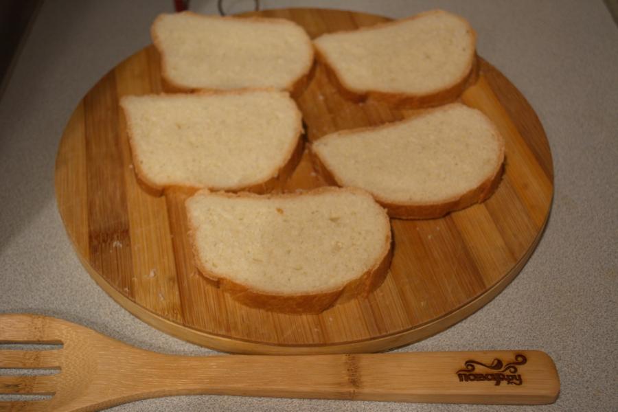 Запеченные тосты с паприкой