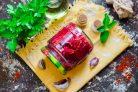 Салат из свеклы с кабачками
